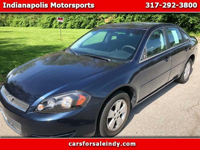 2008 Chevrolet Impala For Sale At Indianapolis Motorsports In Indianapolis  IN