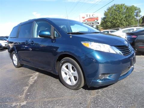 2012 Toyota Sienna for sale in Moore, SC