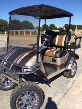 Champagne and Bronze Luxury Cart for sale in Eunice, LA