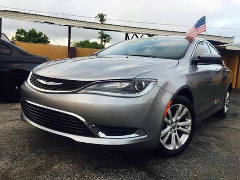 2015 Chrysler 200 for sale at North America Auto Sales in Tampa FL