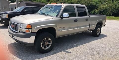 2002 GMC Sierra 2500HD for sale in Livingston, TN