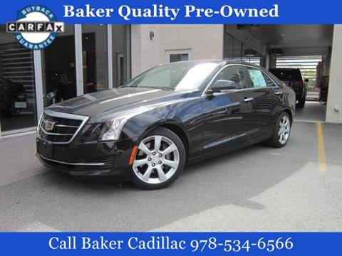 2016 Cadillac ATS for sale in Leominster, MA