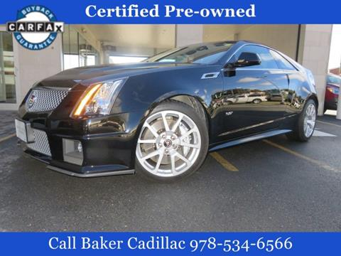 2014 Cadillac CTS-V for sale in Leominster, MA