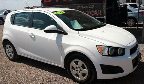 2014 Chevrolet Sonic for sale at Drive in Leachville AR