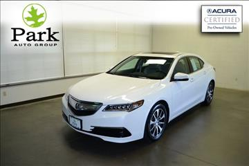 2015 Acura TLX for sale in Akron, OH