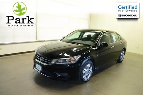 2015 Honda Accord for sale in Akron, OH