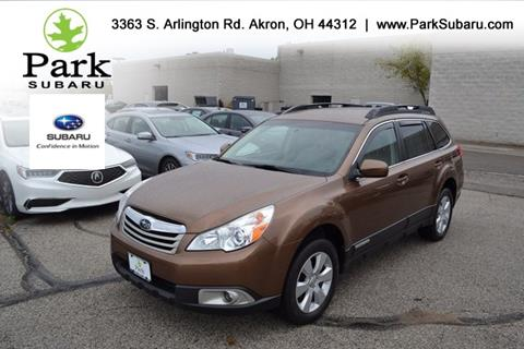 2012 Subaru Outback for sale in Akron, OH
