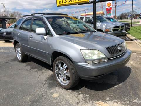 2001 Lexus RX 300 for sale at Wise Investments Auto Sales in Sellersburg IN