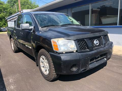 2006 Nissan Titan for sale at Wise Investments Auto Sales in Sellersburg IN