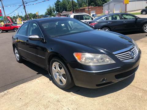 2005 Acura RL for sale at Wise Investments Auto Sales in Sellersburg IN