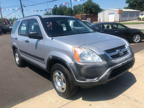 2002 Honda CR-V for sale at Wise Investments Auto Sales in Sellersburg IN