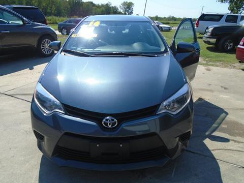 2014 Toyota Corolla for sale in Houston TX