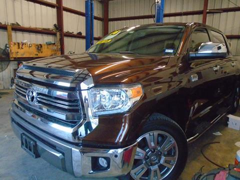 2016 Toyota Tundra for sale in Houston TX