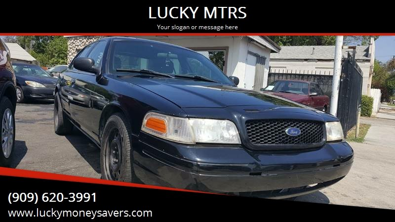2007 Ford Crown Victoria Police Interceptor (3.27 axle) Driver and Passenger Side Air Bags
