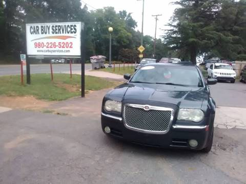 2007 Chrysler 300 for sale at Car Buy Services LLC in Charlotte NC