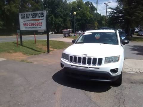 2011 Jeep Compass for sale at Car Buy Services LLC in Charlotte NC