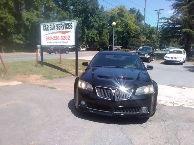 2008 Pontiac G8 for sale at Car Buy Services LLC in Charlotte NC