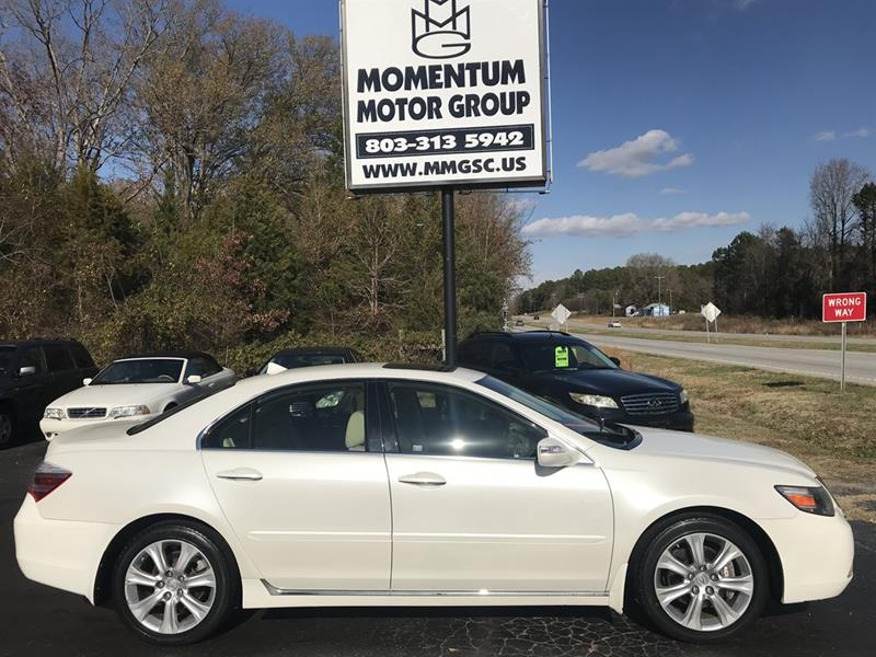 2009 acura rl sh awd in lancaster sc momentum motor group. Black Bedroom Furniture Sets. Home Design Ideas