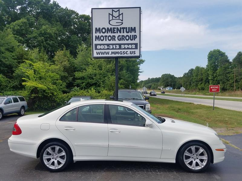 2009 Mercedes Benz E Class For Sale At Momentum Motor Group In Lancaster SC
