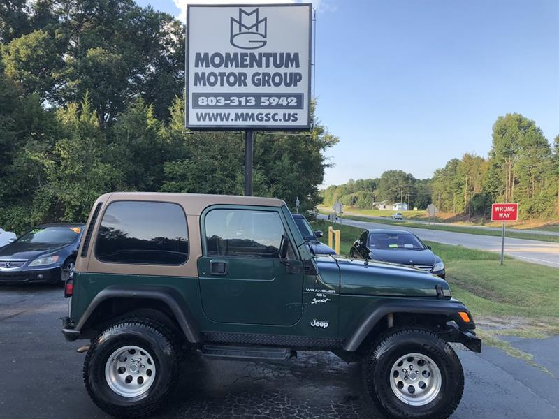 1999 Jeep Wrangler For Sale At Momentum Motor Group In Lancaster SC