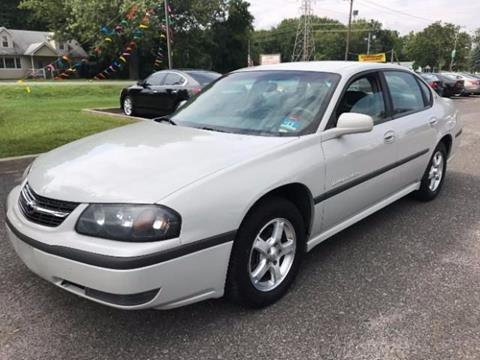 2003 Chevrolet Impala for sale in Philadelphia PA