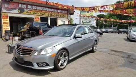 2010 Mercedes-Benz E-Class for sale in Philadelphia, PA