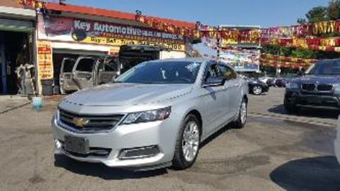 2016 Chevrolet Impala for sale in Philadelphia PA