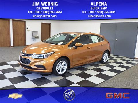 2017 Chevrolet Cruze for sale in Gaylord MI