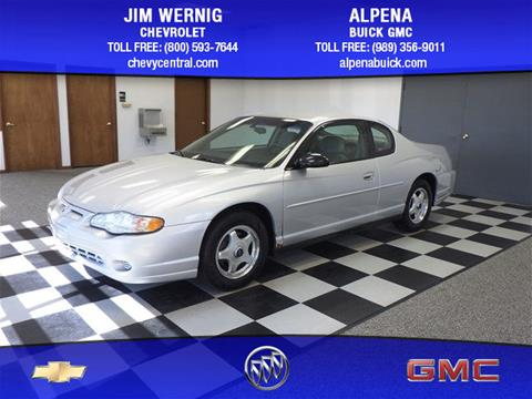 2004 Chevrolet Monte Carlo for sale in Gaylord MI
