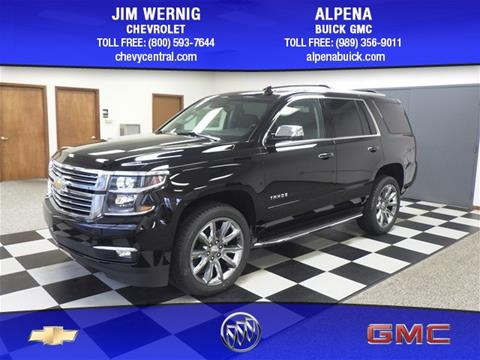 2017 Chevrolet Tahoe for sale in Gaylord MI