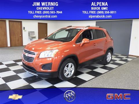 2015 Chevrolet Trax for sale in Gaylord MI