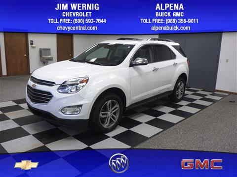 2016 Chevrolet Equinox for sale in Gaylord MI