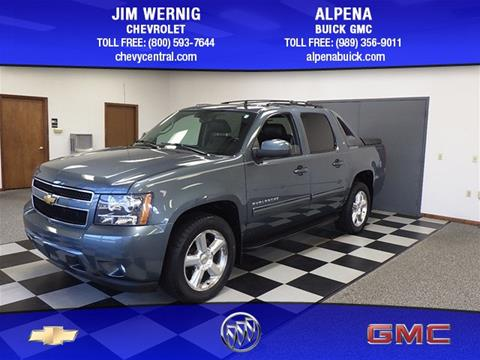 2011 Chevrolet Avalanche for sale in Gaylord MI