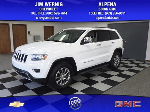 2014 Jeep Grand Cherokee for sale in Gaylord MI