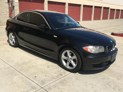 2008 BMW 1 Series for sale at Dyno Auto in Yorba Linda CA