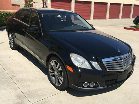 2010 Mercedes-Benz E-Class for sale at Dyno Auto in Yorba Linda CA