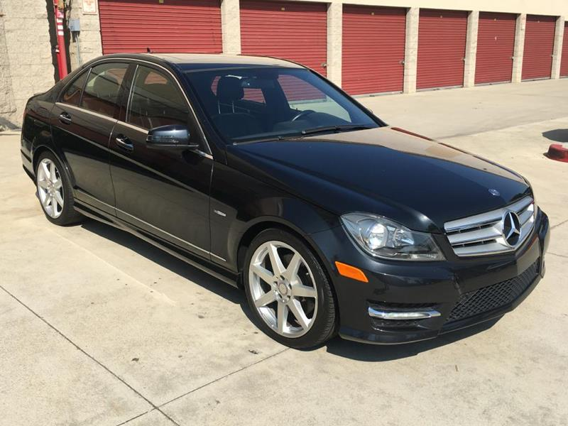 2012 Mercedes-Benz C-Class for sale at Dyno Auto in Yorba Linda CA