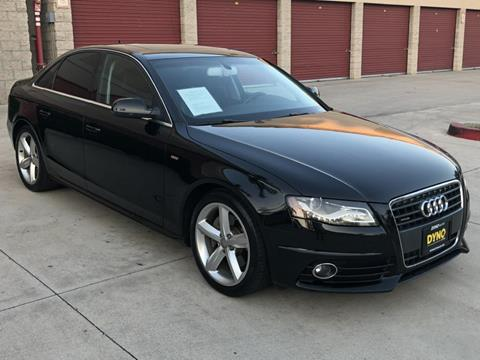 2012 Audi A4 for sale at Dyno Auto in Yorba Linda CA