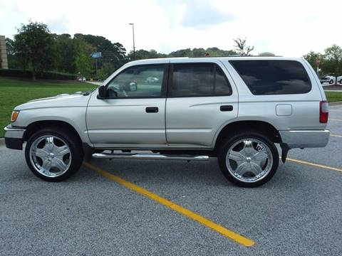2000 Toyota 4Runner for sale at Msinco's Auto Broker in Snellville GA