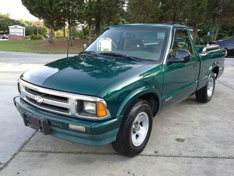 1996 Chevrolet S-10 for sale at Msinco's Auto Broker in Snellville GA