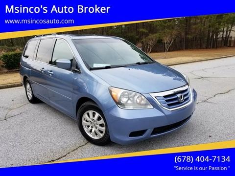 2008 Honda Odyssey for sale at Msinco's Auto Broker in Snellville GA