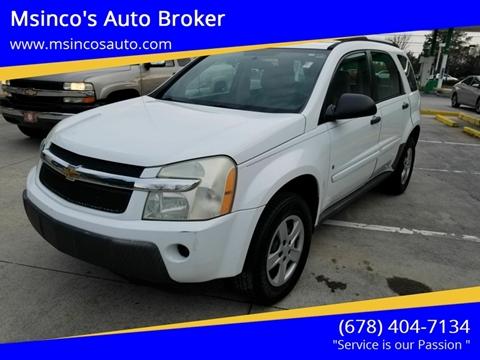 2006 Chevrolet Equinox for sale at Msinco's Auto Broker in Snellville GA