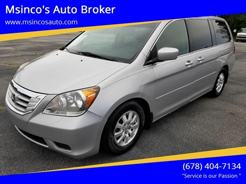 2010 Honda Odyssey for sale at Msinco's Auto Broker in Snellville GA
