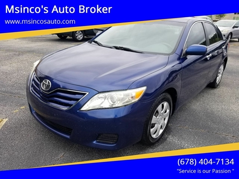 2011 Toyota Camry for sale in Snellville, GA