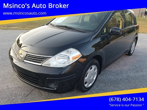 2009 Nissan Versa for sale at Msinco's Auto Broker in Snellville GA