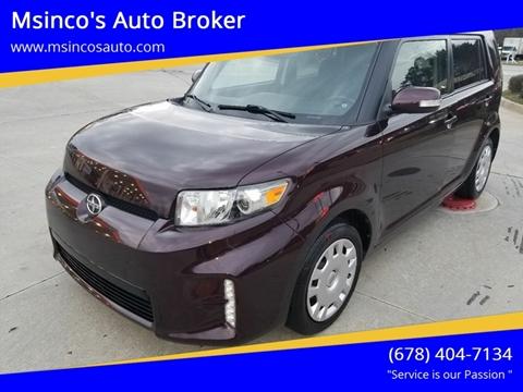 2015 Scion xB for sale at Msinco's Auto Broker in Snellville GA