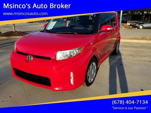 2014 Scion xB for sale at Msinco's Auto Broker in Snellville GA