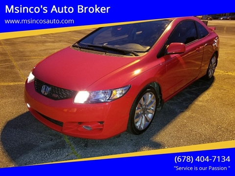 2009 Honda Civic for sale at Msinco's Auto Broker in Snellville GA