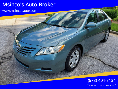 2009 Toyota Camry for sale at Msinco's Auto Broker in Snellville GA