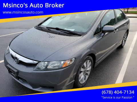 2011 Honda Civic for sale at Msinco's Auto Broker in Snellville GA